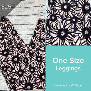 Lularoe Purple Sunflower OS Print